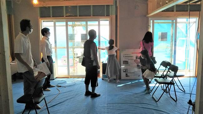 9月5日6日川越市豊田本新築注文住宅構造見学会開催